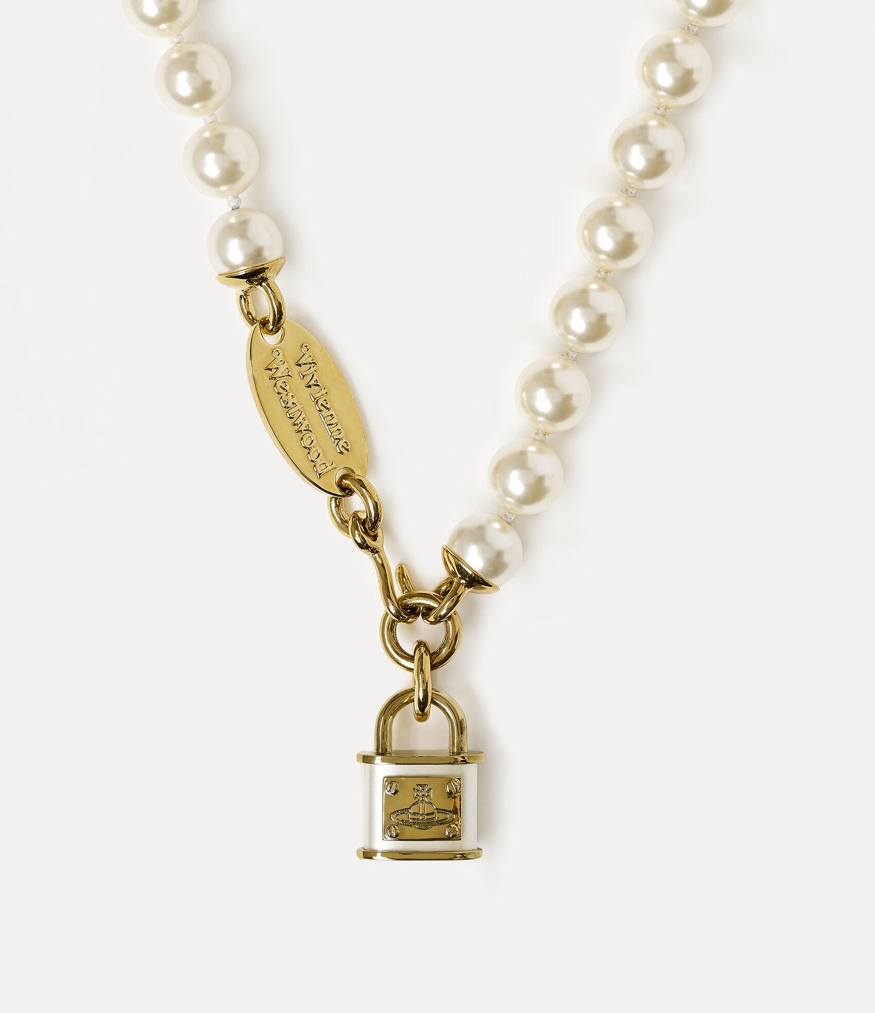 Luna Necklace Gold Tone  by Vivienne Westwood