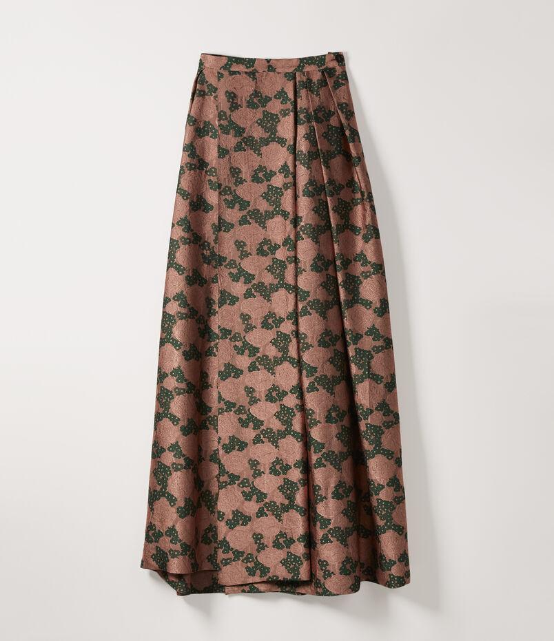 ed1522910 Long Adamant Skirt Pink Green