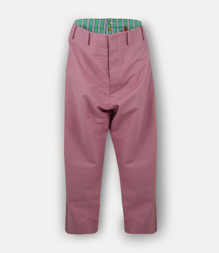 Alien Trousers Pink Check Herringbone 1