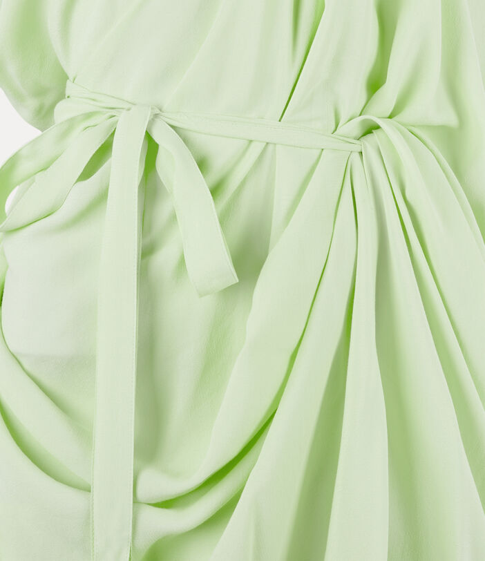 Johanna Dress Lime Cream 3
