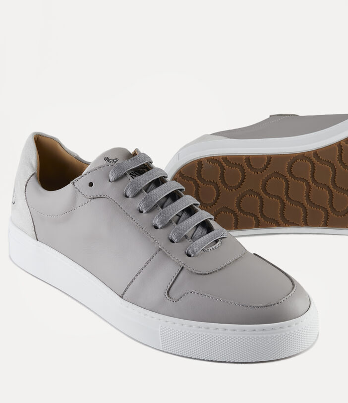 Men'S Low Top Apollo Trainers Grey 4