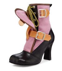 Lilac Bondage Boot
