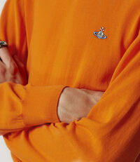 Roundneck Knit Orange