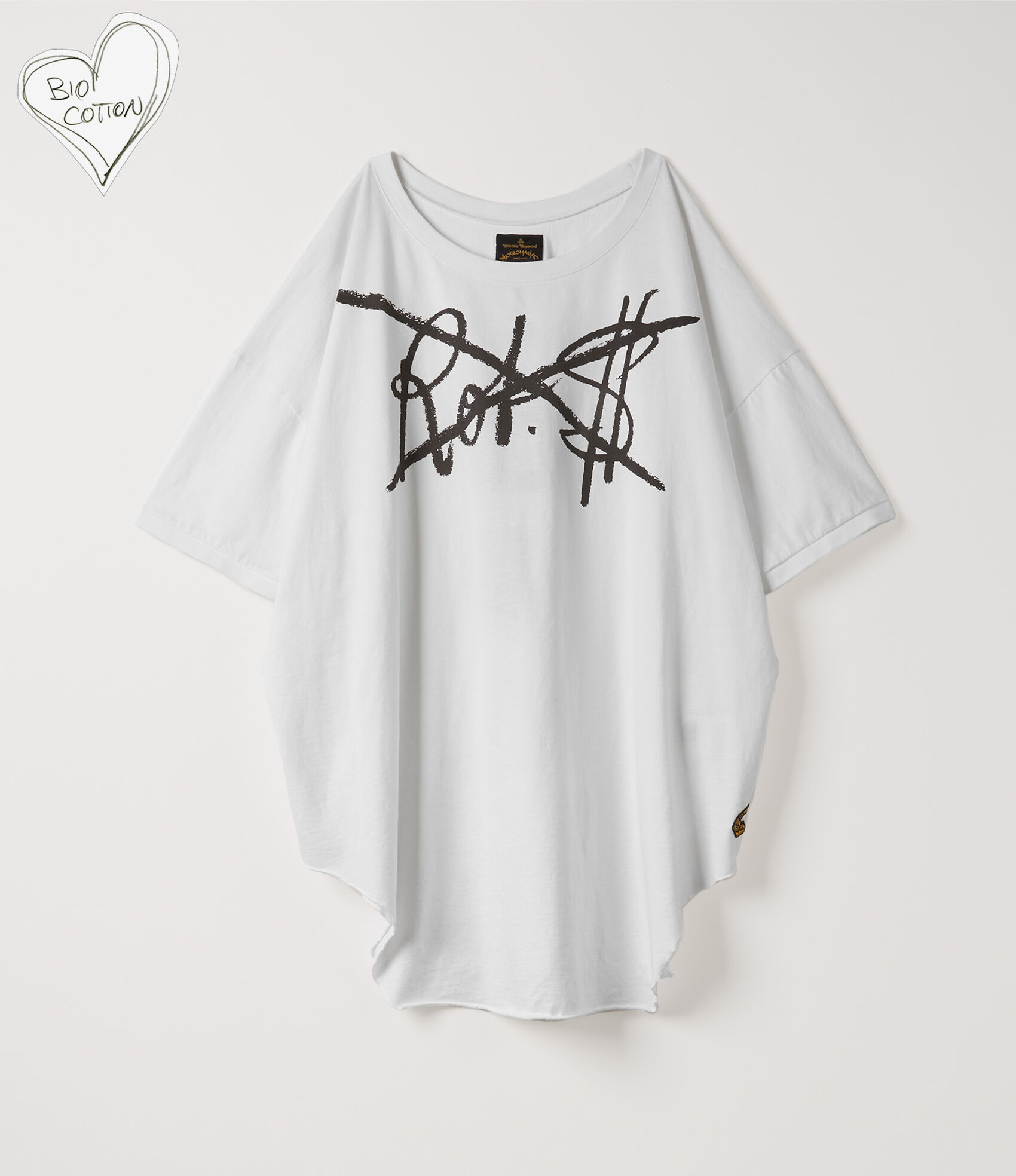 6159456e Baggy T-Shirt White | Women's T-shirts | Vivienne Westwood