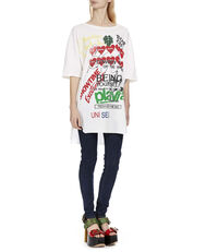Organic Baggy T-Shirt White