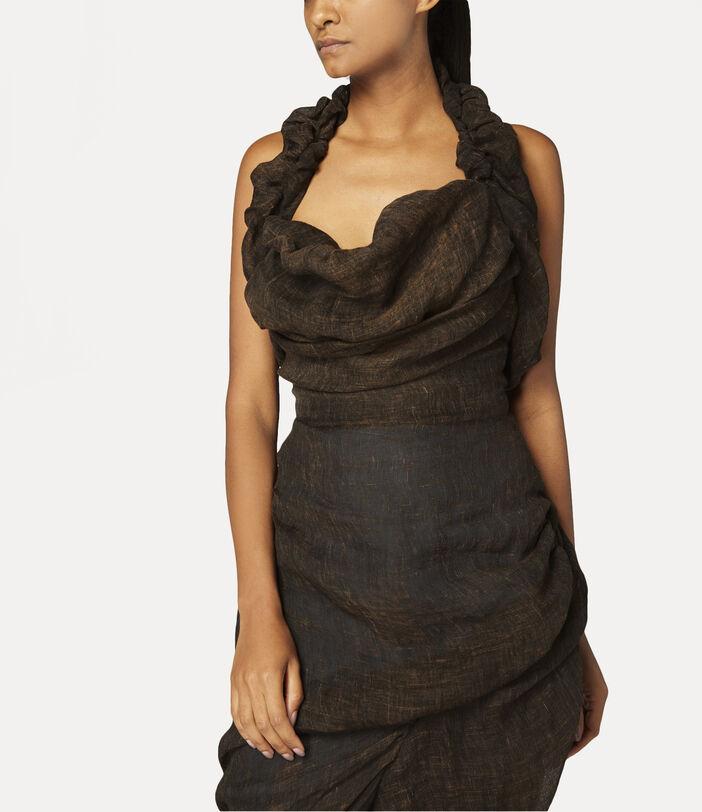 Helenae Dress Brown 5