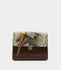 Elizabeth Clutch Brown
