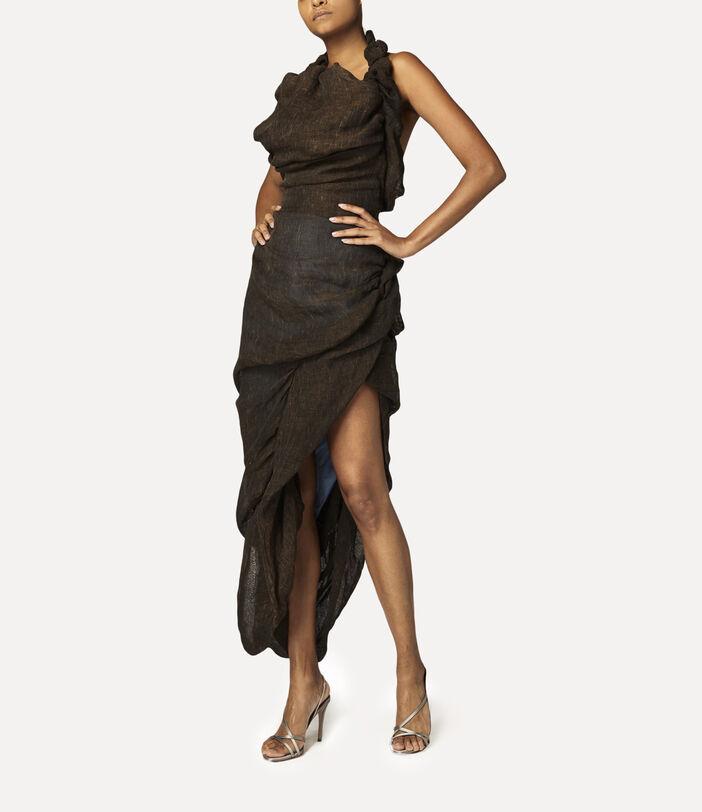 Helenae Dress Brown 3