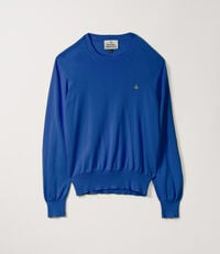Roundneck Knit Bluette