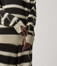 Roundneck Knit Natural/Black