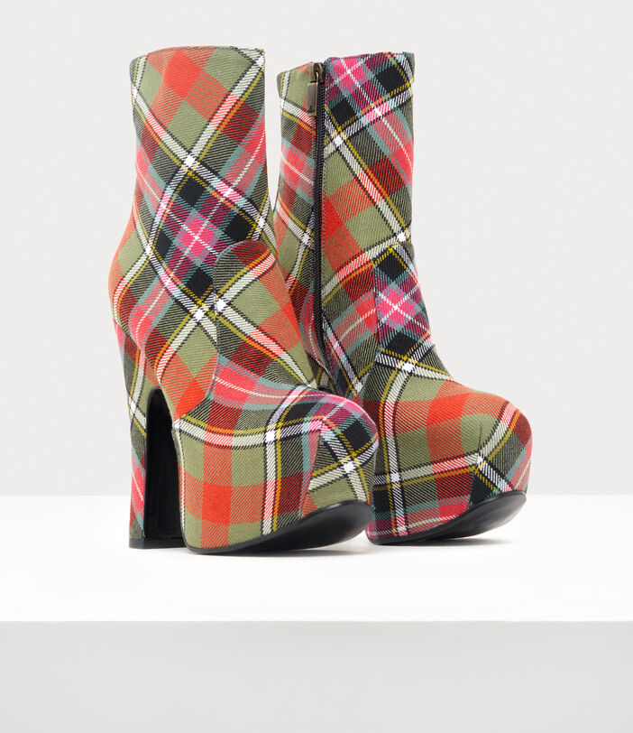 Elevated Boots Tartan 2