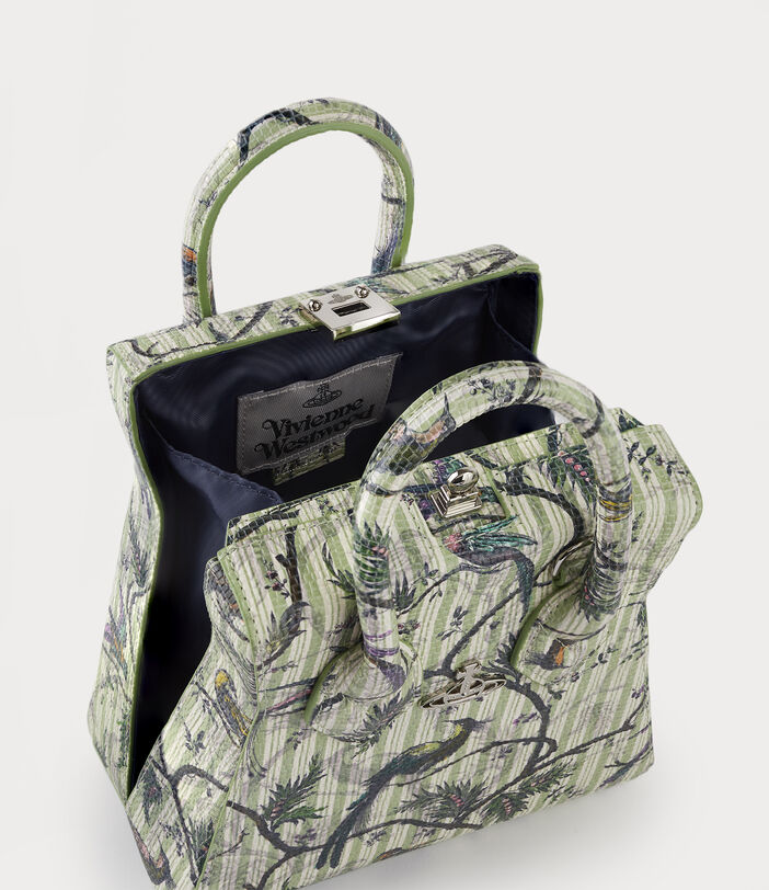 Kelly Small Handbag Bird Of Paradise Print 5