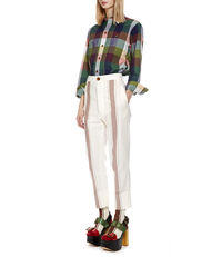 Cropped JB Trousers Stripes