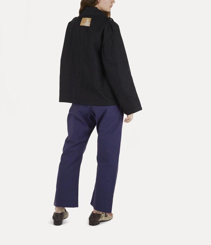 Ben Overshirt Black Check Herringbone 4
