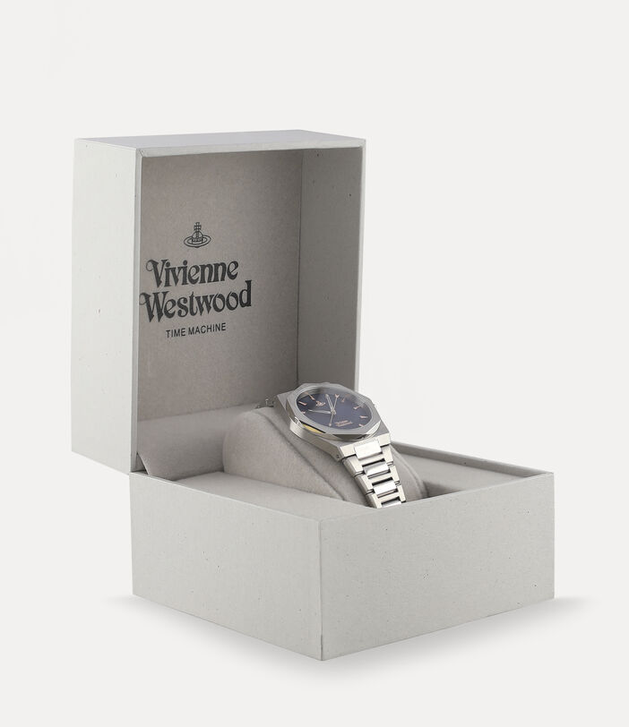 Limehouse Watch Blue/Silver 5