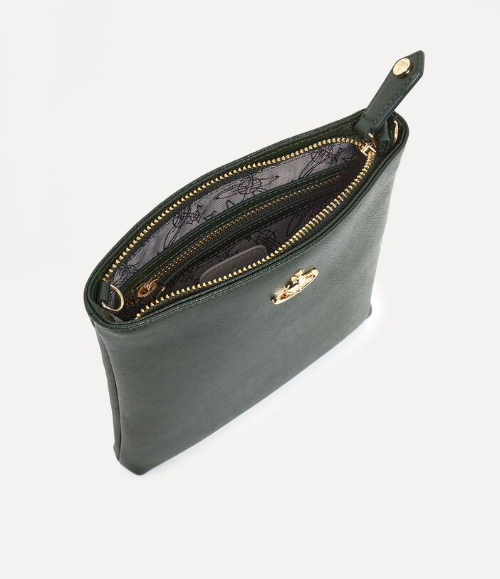 Victoria New Square Crossbody Bag Green 4