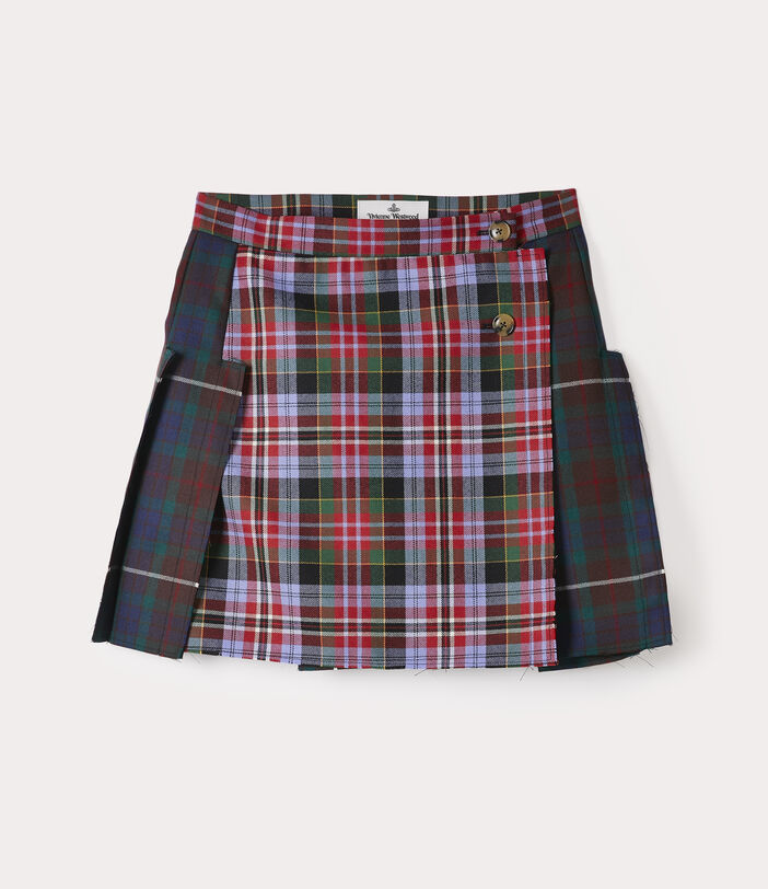 Court Kilt Skirt Tartan Mix 1