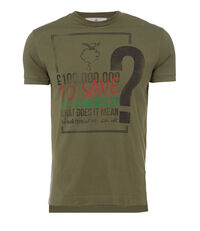 Rainforest Peru T-Shirt Olive Green