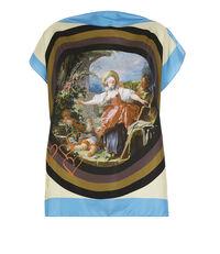 Fragonard Square T-Shirt Sky Blue