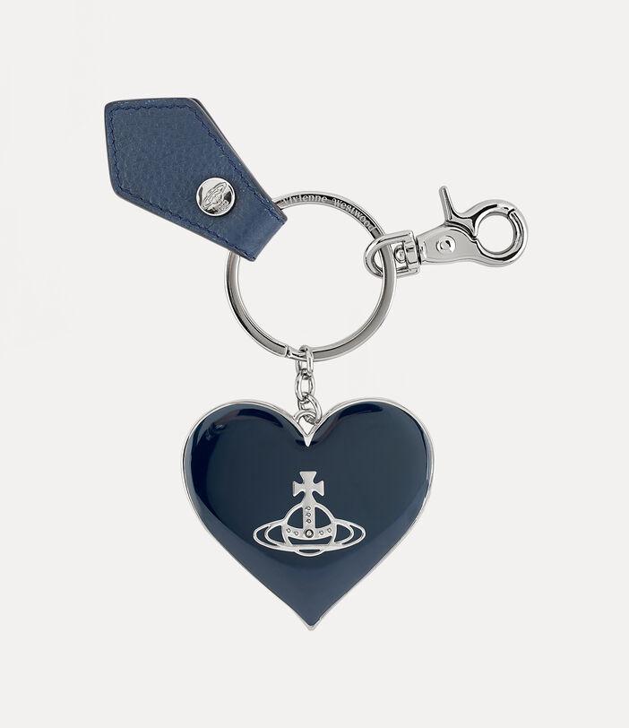 Jordan Mirror Heart Orb Keyring 1