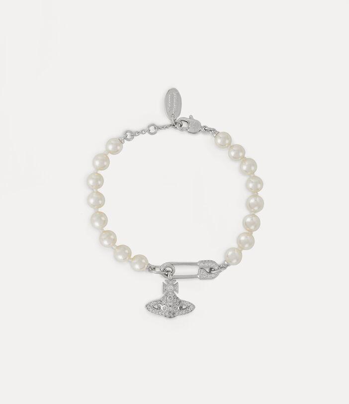 Lucrece Pearl Bracelet Silver-Tone 1