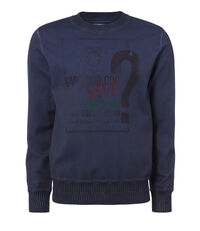 Rainforest Roundneck Sweater Faded Blue