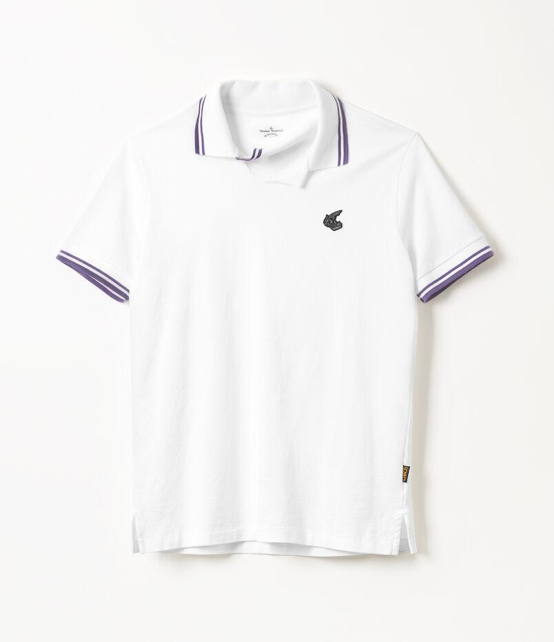 275504991b Squiggle Polo Shirt White Add To Wishlist