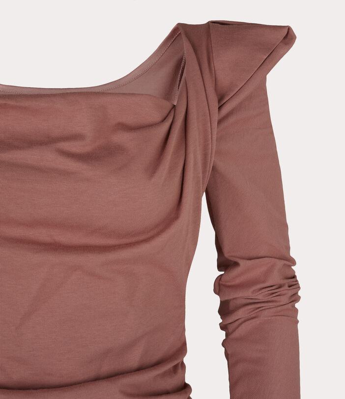 Elizabeth Jersey Dress Dusty Pink 3