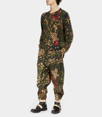 Military Trousers Camouflage Print