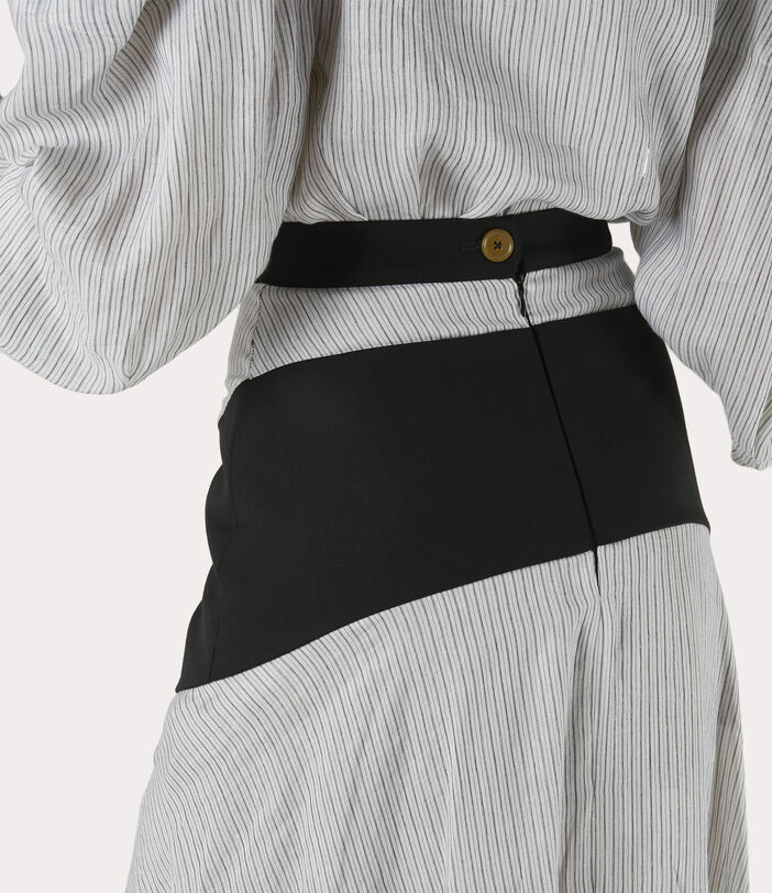 Albertine Skirt White/Black 5