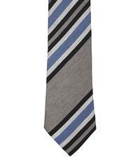 Striped Jacquard Tie Black