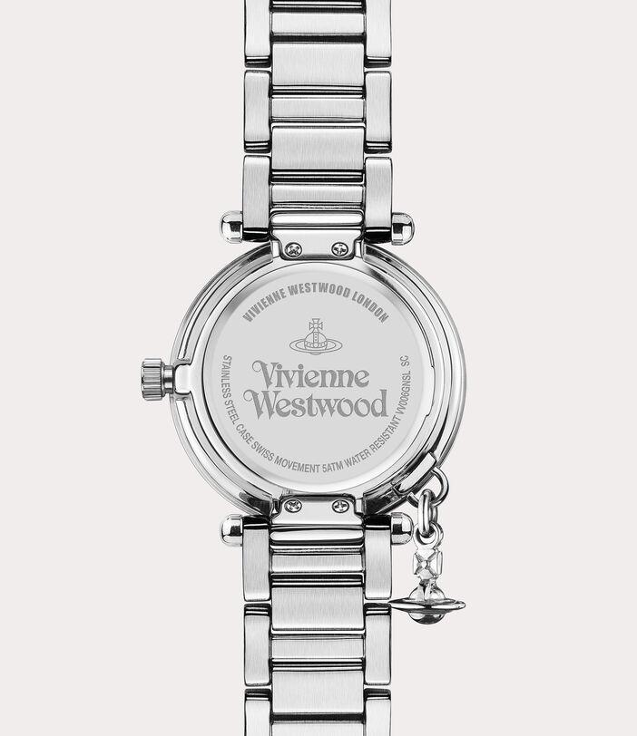 Orb Diamond Watch Silver Tone 4