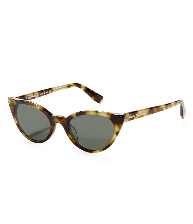 Tortoiseshell Tipped Sunglasses VW965S-2HGR
