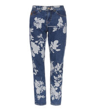 Skytte Jeans Absense Of Rose Print