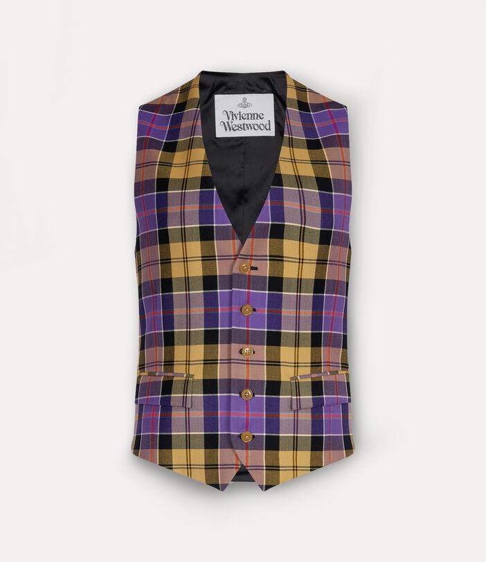 New Classic Waistcoat Tartan 1