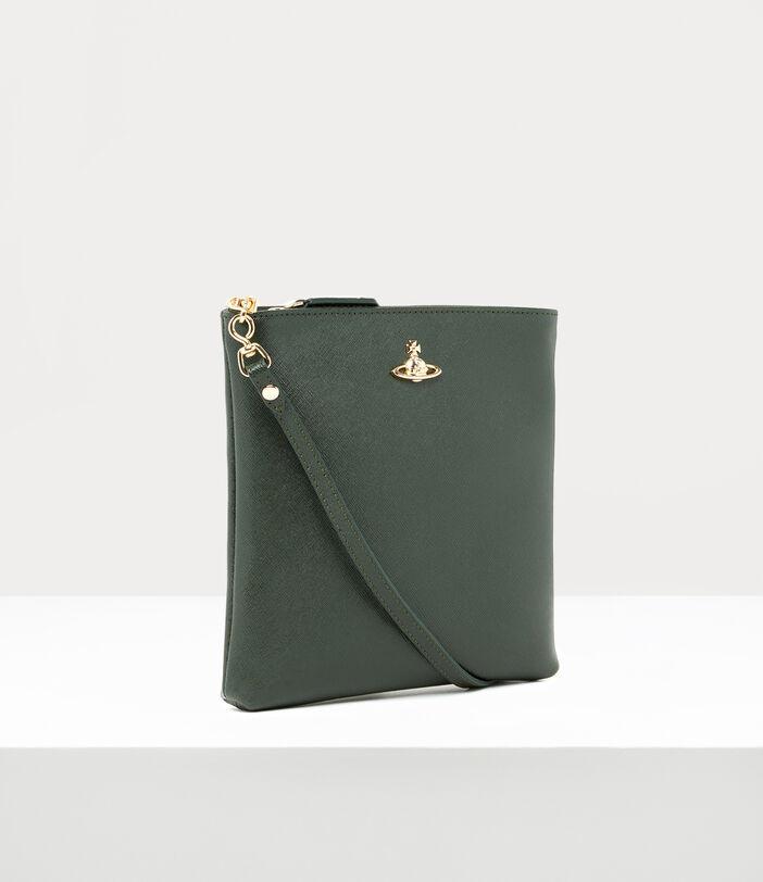Victoria New Square Crossbody Bag Green 2