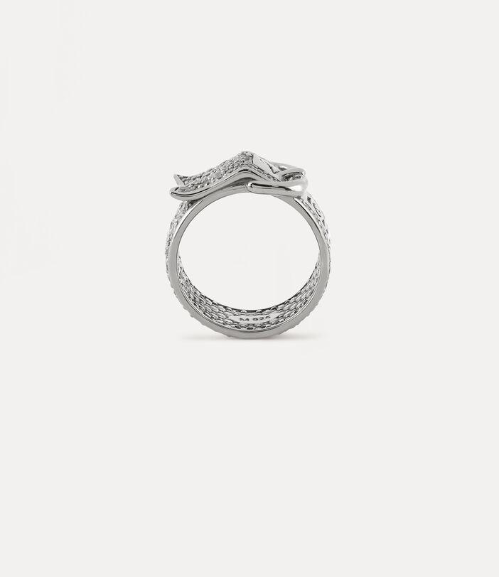 Pavé Belt Ring 3