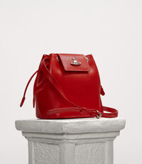 Matilda Bucket Bag Red