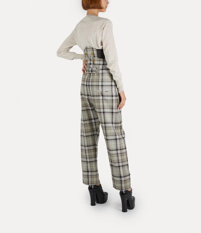 Corset Trousers Tartan 3
