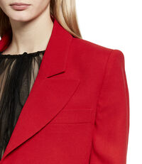 Crop Jacket Red