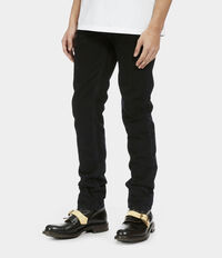 Classic Tapered Jeans Blue/Black