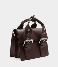 Alex Medium Handbag Burgundy