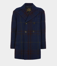 Princess Car Coat Indigo