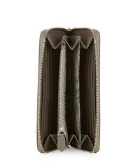 Nappa Zip Round Wallet 51050023 Nutmeg