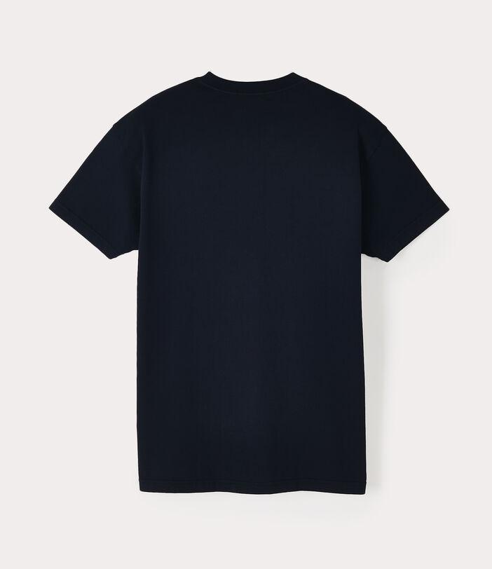 Classic T-Shirt Multicolour Orb Navy 2