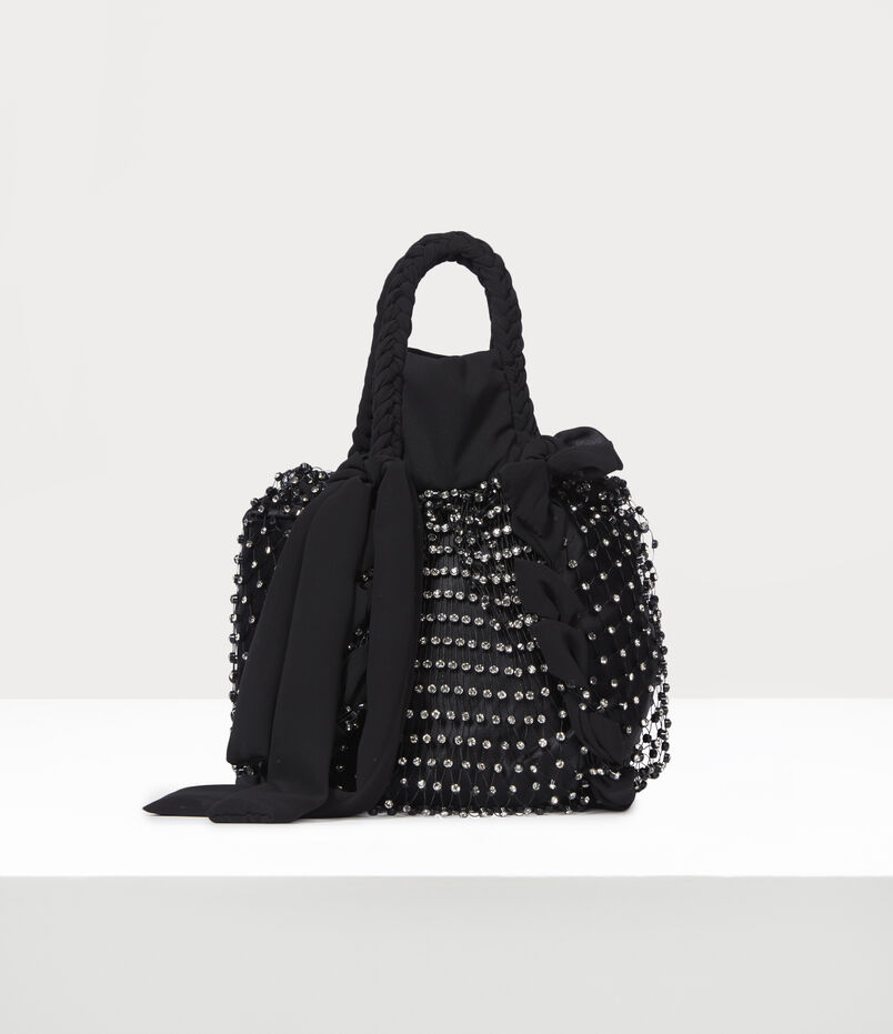 Vivienne Westwood Courtney Small Handbag Black