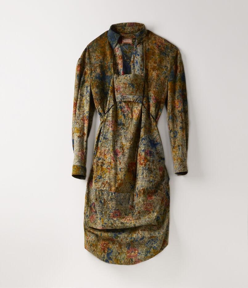 32e530b0b01 Kabul Dress Back Batik Print