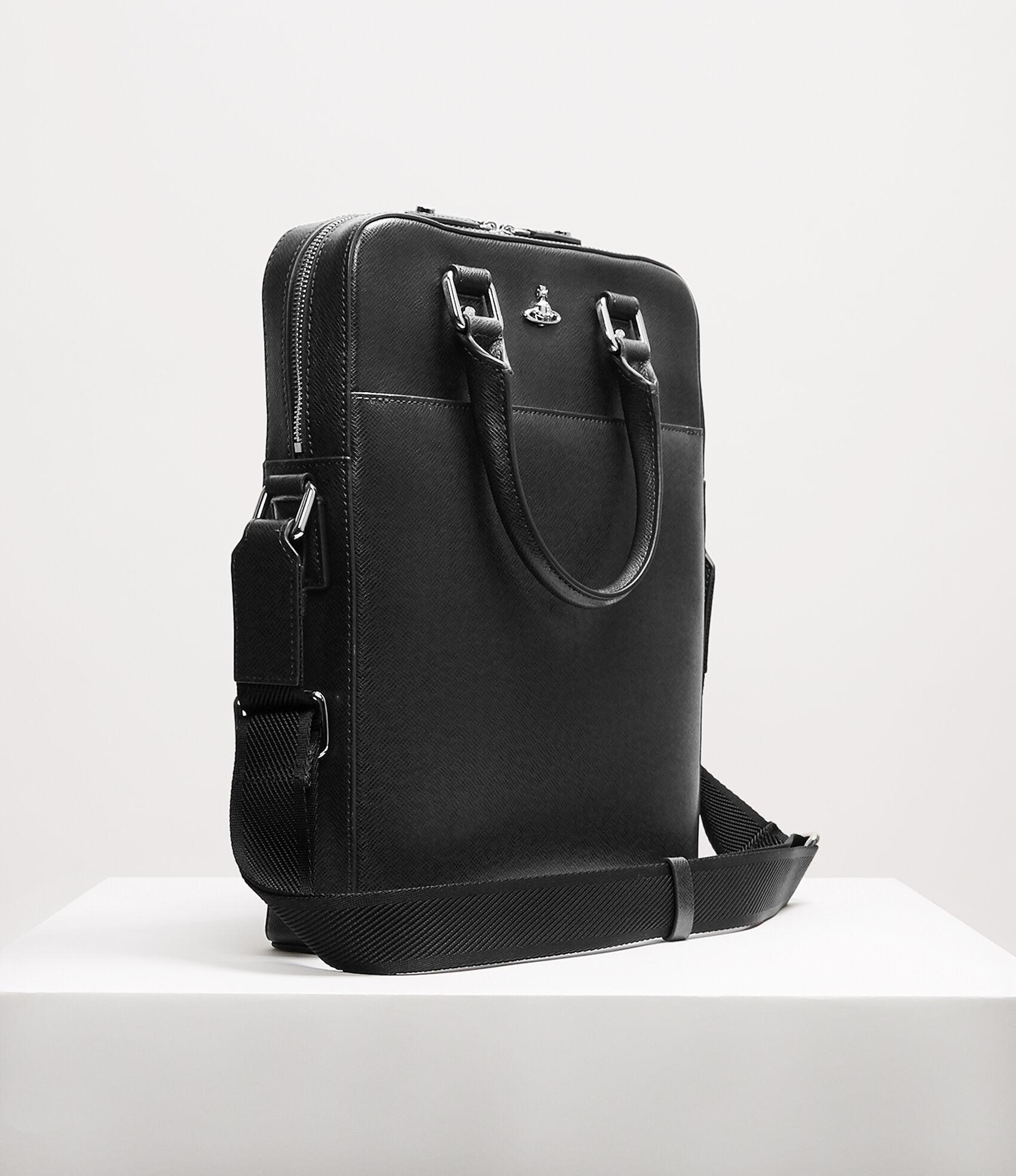 35a46862e9 Vivienne Westwood Pouches and document cases   Men's bags   Vivienne  Westwood - Kent Tote Bag Black