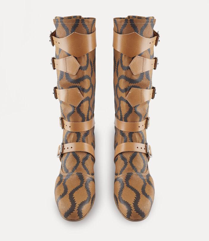 Pirate Boots Tan/Brown 6