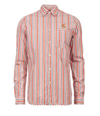 Striped Classic Shirt Orange